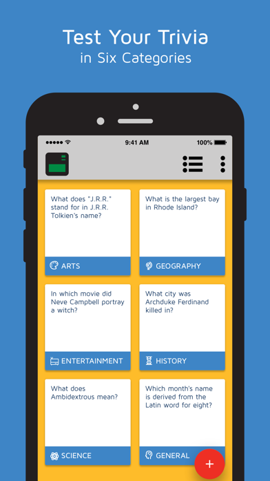 Random Trivia Generator by Slavi Grozev (iOS, United States