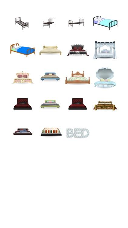 Bed Sticker Pack!