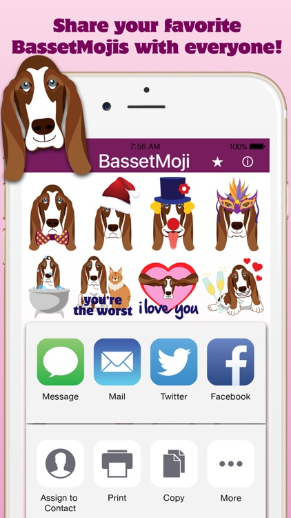 BassetMoji screenshot-4