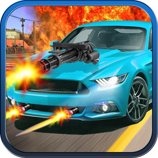 Avengers Death Car : Shooting Racing Adventure