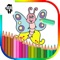 Butterfly Kids Coloring Book