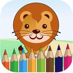 Kız Ve Erkek çocuk Hayvanlar Boyama App Storeda