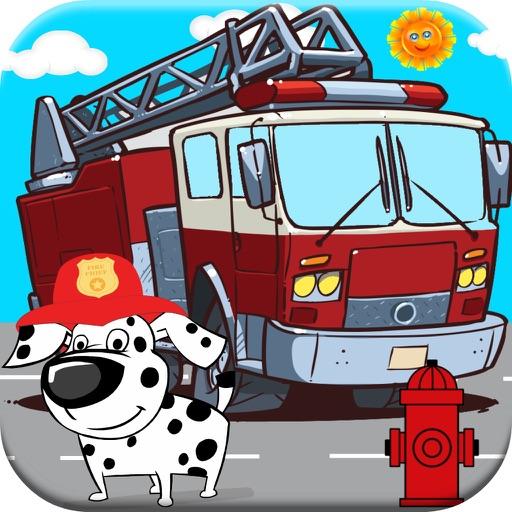 Fireman Games! Fire-Truck & Fire Fighter Game Free - App