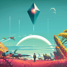 Wallpaper for No Man's Sky HD | Stickers & Effects