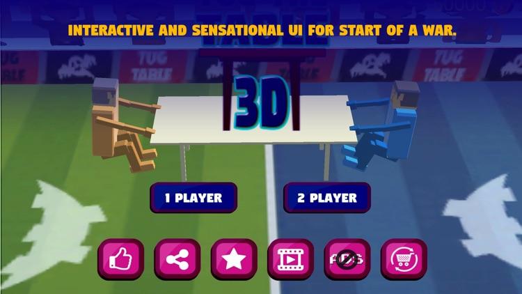 Tug The Table 3D-Wrestle Jump Fighter Physics War screenshot-0