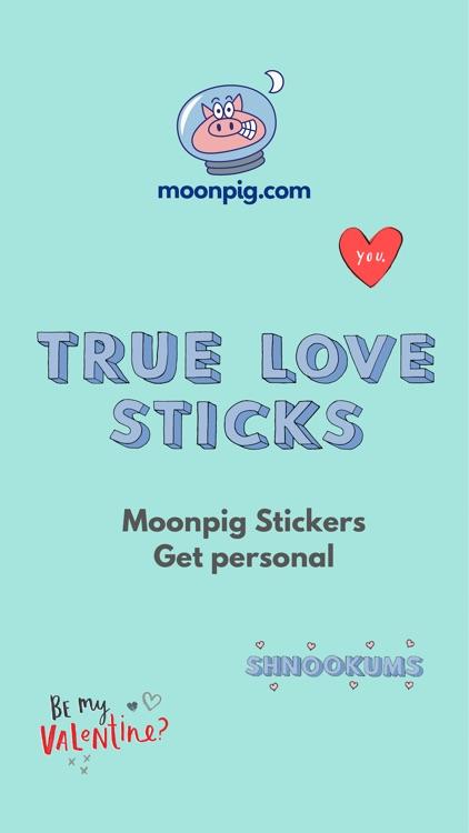 Moonpig Stickers