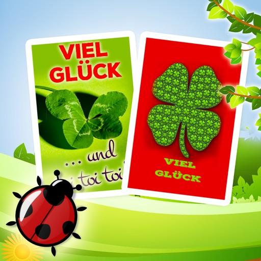 Viel Glück - Glückwunschkarten & Grußkarten