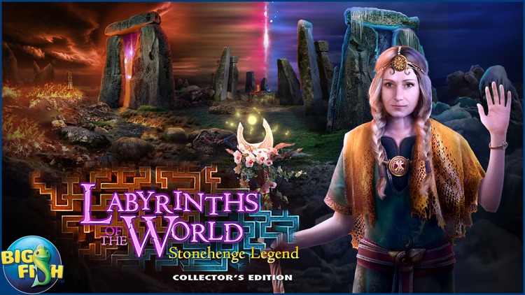 Labyrinths of the World: Stonehenge Legend screenshot-4