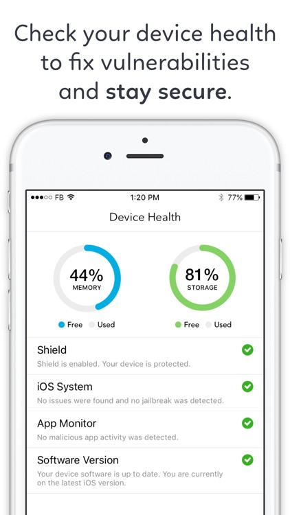 Protection for iPhone - Mobile Security Anti Track