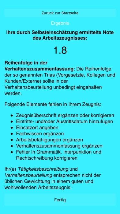点击获取Arbeitszeugnisanalyse