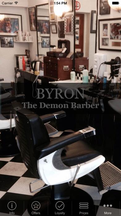 Byron The Demon Barber
