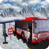Offroad Hill Snow Bus Driver Parking Simulator 3D