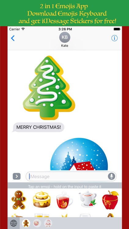 ChristMoji - Christmas Stickers & Emojis Keyboard