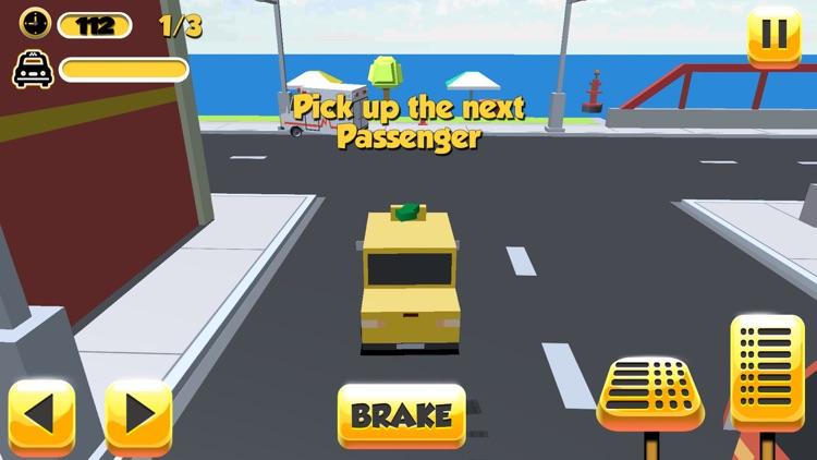 Taxi Driver Sim 3D