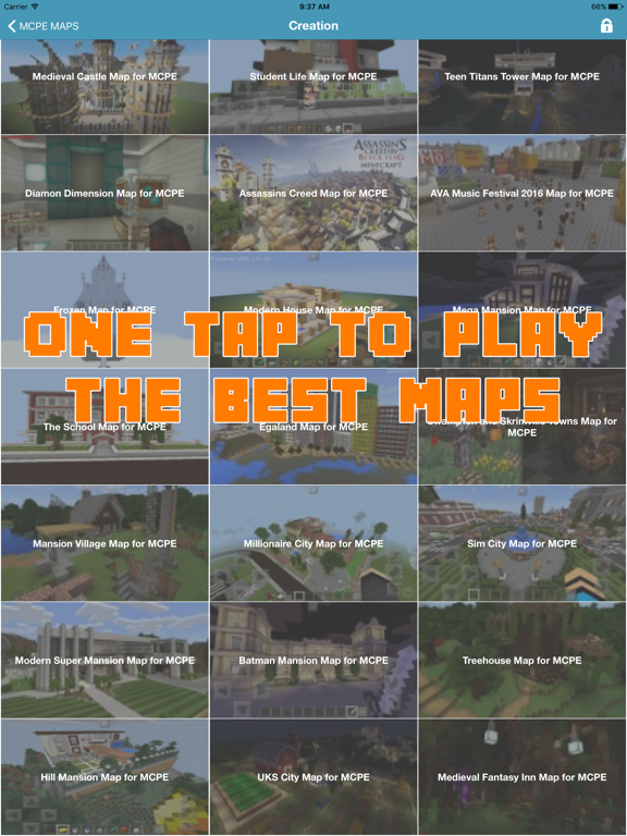 1000+ MCPE MAPS FOR MINECRAFT POCKET EDITION GAME by Phan