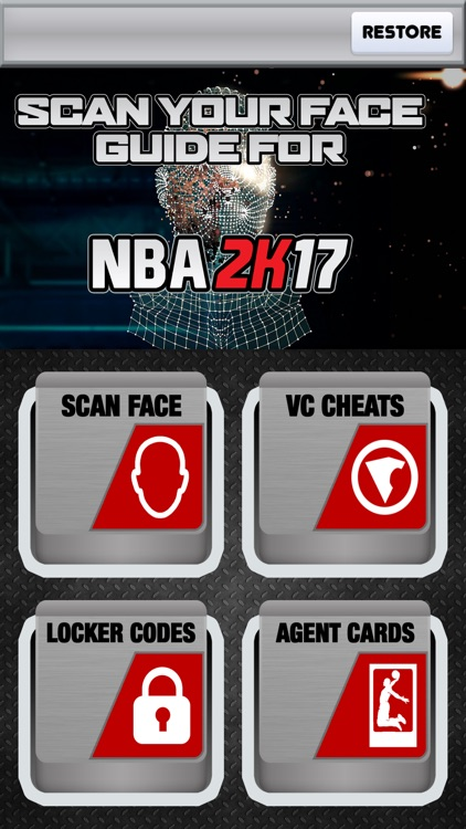 SCAN YOUR FACE Guide for My NBA 2K17 APP app image