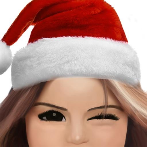 Cute Santa Girl - Christmas Girl