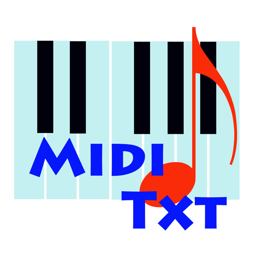 MidiTxT For Mac