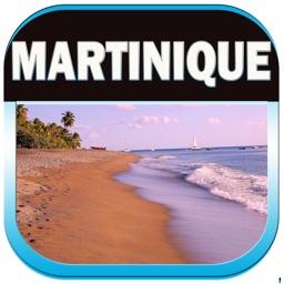 Martinique Island Offline Travel Map Guide