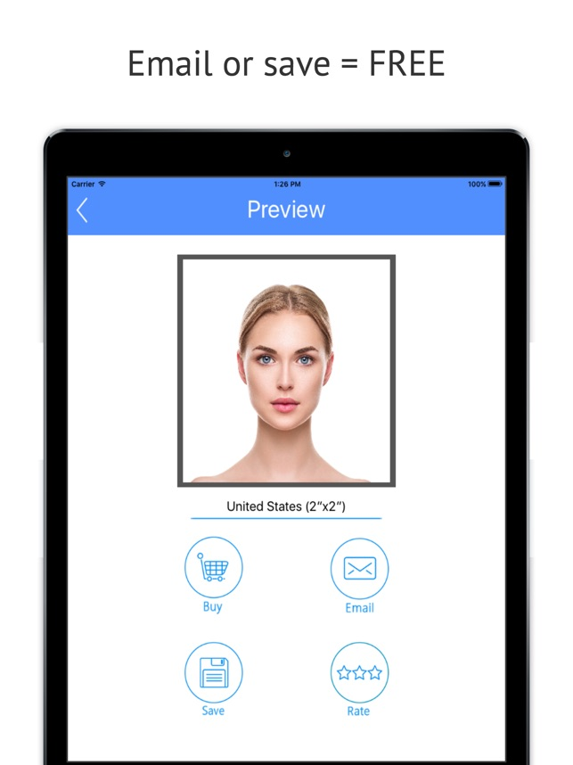 Passport Photo Booth - Take & Print ID Pictures on the App Store