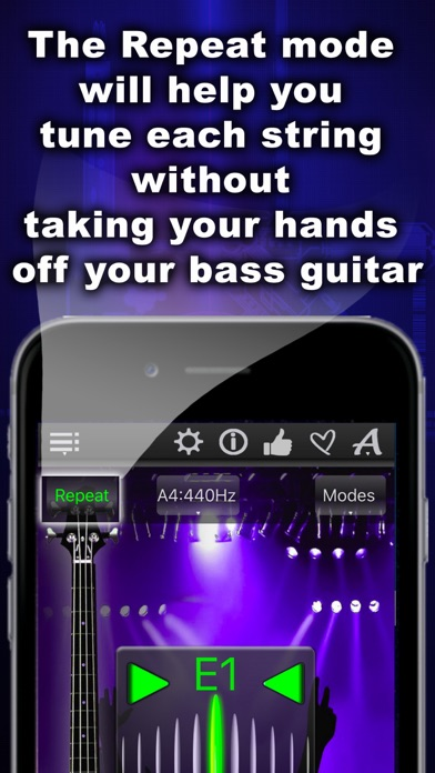 Screenshot for Easy Bass Tuner in Sweden App Store