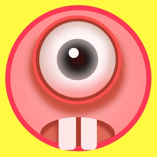 Crazy Eye - Avoid obstacles and Eat the blue eyes