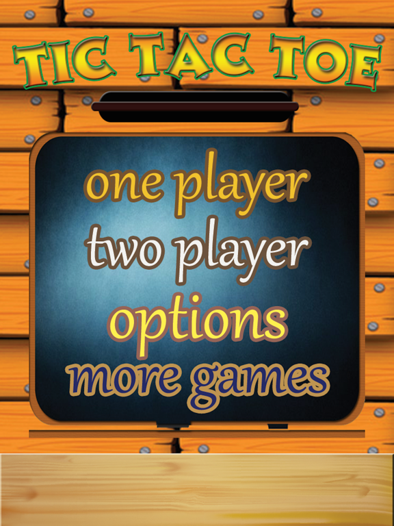 TicTacToe - One & Two Player screenshot 7