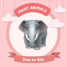 Activities of Paint Animals : Draw for Kids - Coloring Book