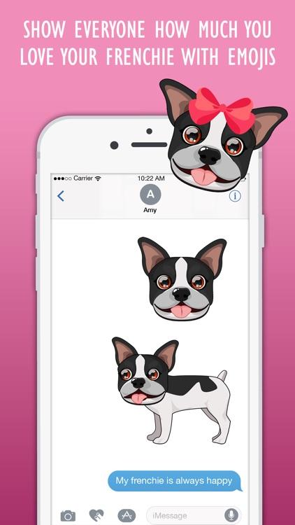 FrenchieMoji: French Bulldog Emojis screenshot-3
