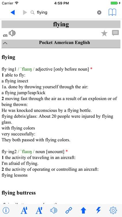 Super Deluxe American English Dictionary screenshot-4