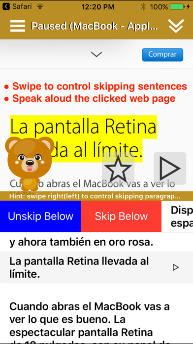 ReadToMe 2 (Text-to-Speech) Screenshots