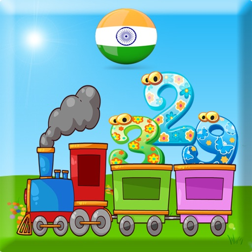 123 learn to count for children - Hindi