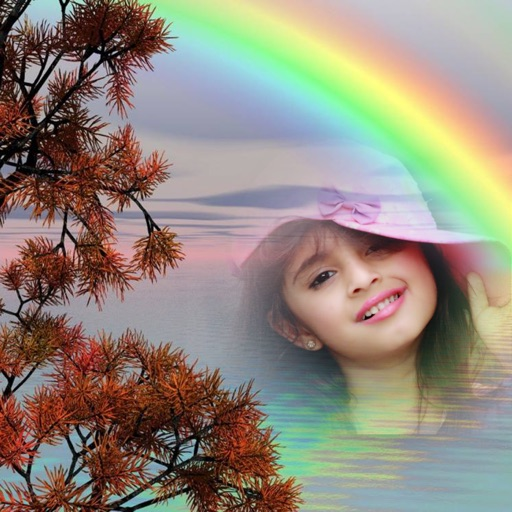 Rainbow Photo Frame Editor : Hd photo Frames by jitendra