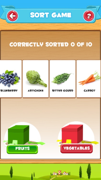 Learn Vegetables and Fruits screenshot-4