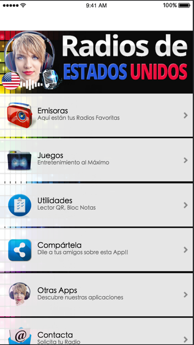 Radios de Estados Unidos screenshot one