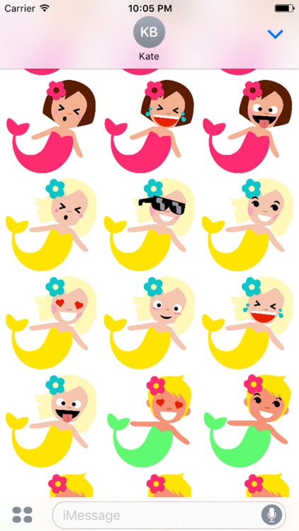 Cinderly's Mermaid Stickers screenshot-3