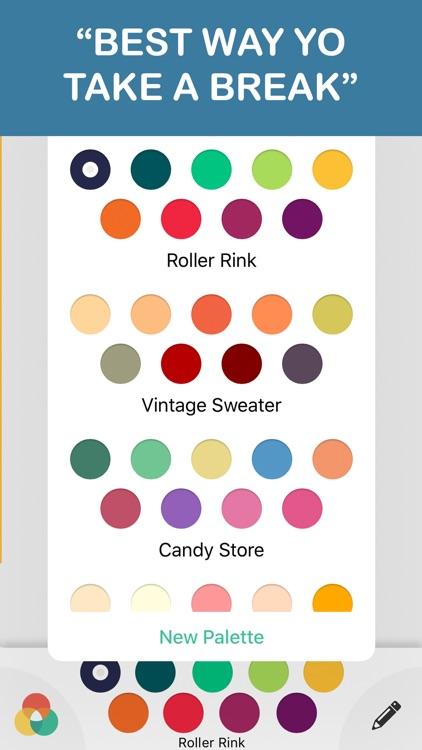 mandala coloring book - free adult colors therapy screenshot-3