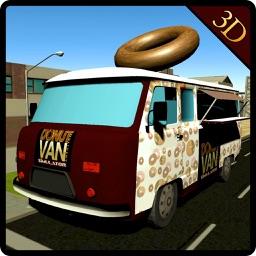 Donut Van Delivery Simulator & Mini Truck Driving
