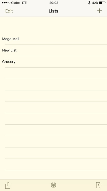 Tiny Shopping List screenshot-0