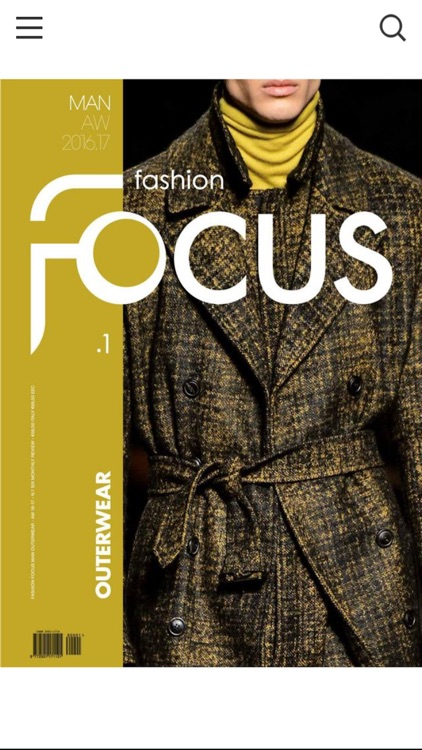 Fashion Focus Man Outerwear
