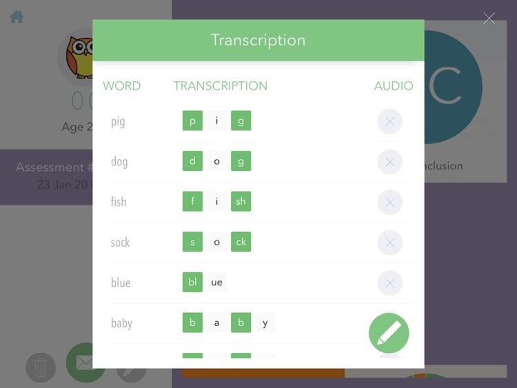 Speech Sound Assessment App for EYPs screenshot-4