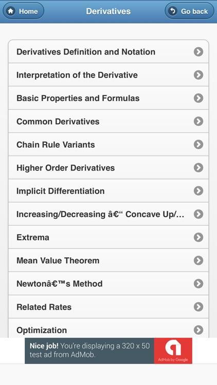 All Maths Formulas screenshot-3