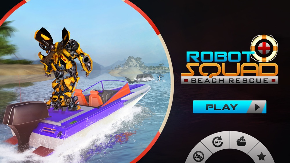 Robot Squad – Beach Rescue: Flying Robot Hero Cheat Codes