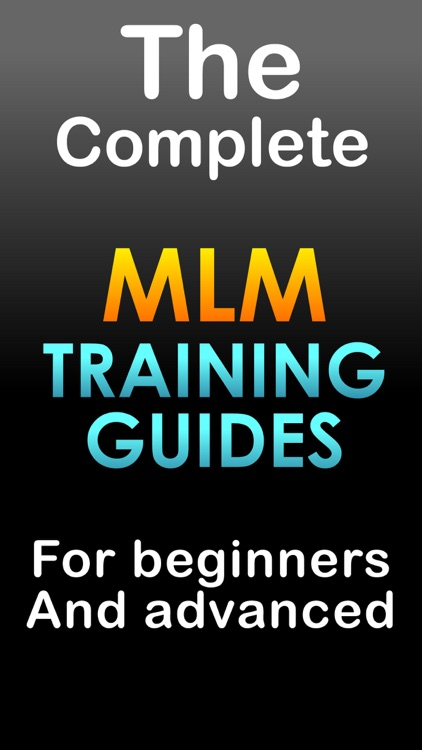 MLM master guide - Training and marketing app