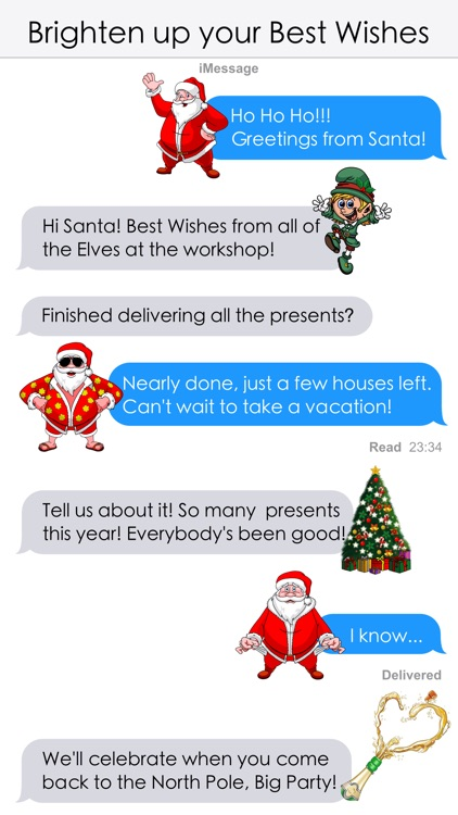Christmas and New Year Stickers screenshot-3