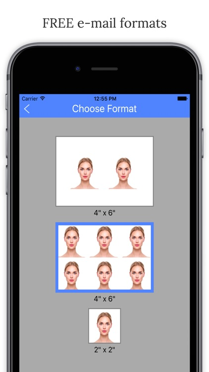 Passport Photo Booth - Take & Print ID Pictures screenshot-3