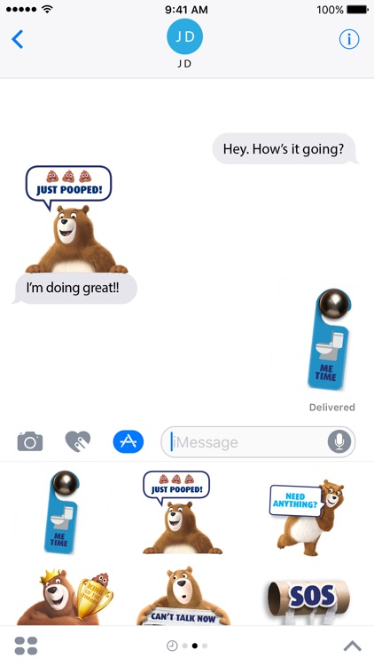 Charmin Pooptastic Stickers screenshot-3