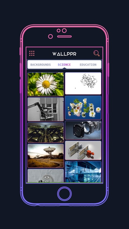 WALLPPR - High resolution HD wallpapers for iphone