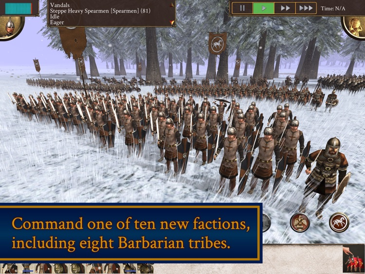ROME: Total War - Barbarian Invasion screenshot-1