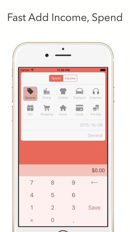 Hipo - Track your expenses